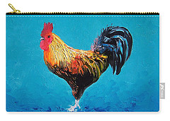 Rooster Emanuel Carry-all Pouch by Jan Matson