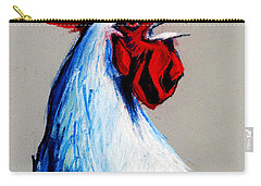 Rooster Head Carry-all Pouch by Mona Edulesco