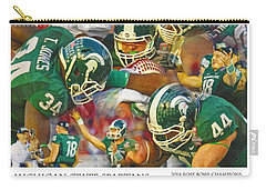Rose Bowl Collage Carry-all Pouch by John Farr