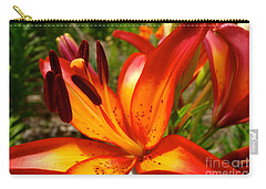 Royal Sunset Lily Carry-all Pouch by Jacqueline Athmann