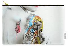 Ruby Rose - ' Ruby IIi ' Carry-all Pouch by Christian Chapman Art