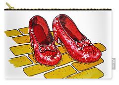 Ruby Slippers The Wizard Of Oz  Carry-all Pouch by Irina Sztukowski
