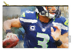 Russell Wilson Carry-all Pouch by Lourry Legarde