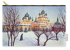 Russian Winter Carry-all Pouch by Tilly Willis