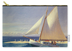 Sailing Boat Carry-all Pouch by Edward Hopper