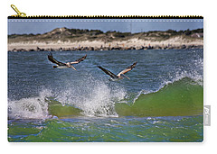 Scouting For A Catch Carry-all Pouch by Betsy Knapp