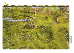 Sea Of Green Carry-all Pouch by Bill Wakeley
