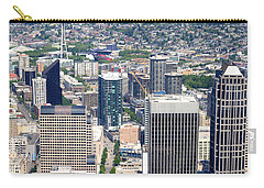 Seattle Skylines From The Columbia Carry-all Pouch by Panoramic Images