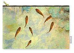 Sei Pesciolini Verdi Carry-all Pouch by Guido Borelli