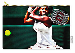 Serena Williams 3a Carry-all Pouch by Brian Reaves