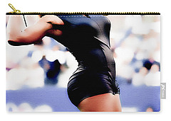 Serena Williams Catsuit Carry-all Pouch by Brian Reaves