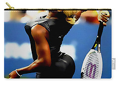 Serena Williams Catsuit II Carry-all Pouch by Brian Reaves