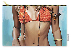 Shakira Artwork Carry-all Pouch by Sheraz A