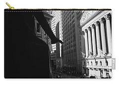 Silhouette Of George Washington Statue Carry-all Pouch by Panoramic Images