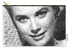 Simply Stunning Grace Kelly Carry-all Pouch by Florian Rodarte