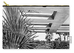 Sinatra Patio Bw Palm Springs Carry-all Pouch by William Dey