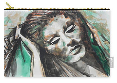 Singer Adele 01 Carry-all Pouch by Chrisann Ellis