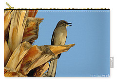 Singing Mockingbird Carry-all Pouch by Marilyn Smith