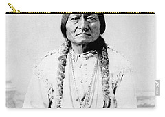 Sioux Chief Sitting Bull Carry-all Pouch by War Is Hell Store