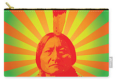 Sitting Bull Carry-all Pouch by Gary Grayson