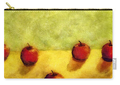 Six Apples Carry-all Pouch by Michelle Calkins