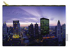 Skyscrapers, Chicago, Illinois, Usa Carry-all Pouch by Panoramic Images
