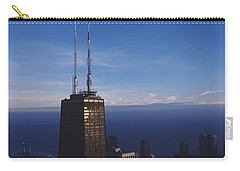 Skyscrapers In A City, Hancock Carry-all Pouch by Panoramic Images