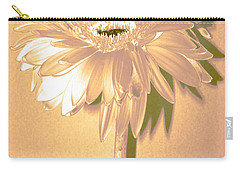 Slice Of Lime Zinnia Carry-all Pouch by Sherry Allen