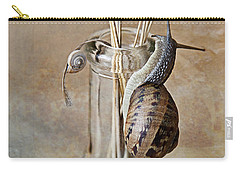 Snails Carry-all Pouch by Nailia Schwarz