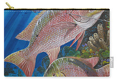 Snapper Spear Carry-all Pouch by Carey Chen