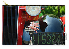 Socony Pegasus License Plate Topper Carry-all Pouch by Paul Ward