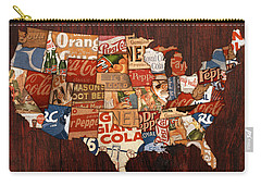 Soda Pop America Carry-all Pouch by Design Turnpike