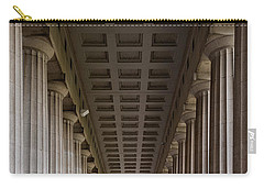 Soldier Field Colonnade Carry-all Pouch by Steve Gadomski