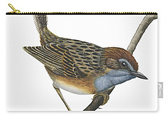 Southern Emu Wren Carry-all Pouch by Anonymous