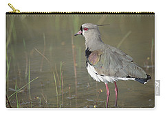 Southern Lapwing In Marshland Pantanal Carry-all Pouch by Tui De Roy