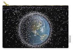 Carry-all Pouch featuring the photograph Space Junk by Science Source