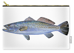 Speckled Trout Carry-all Pouch by Carey Chen
