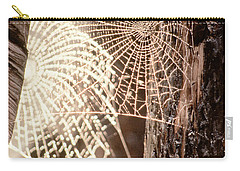 Spider Webs Carry-all Pouch by Anonymous