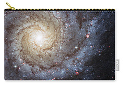Spiral Galaxy M74 Carry-all Pouch by Adam Romanowicz