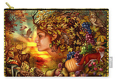 Spirit Of Autumn Carry-all Pouch by Ciro Marchetti