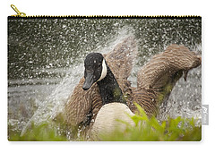 Splishing And Splashing Carry-all Pouch by Karol Livote