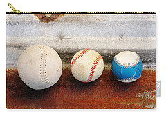 Sports - Game Balls Carry-all Pouch by Art Block Collections