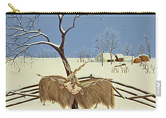 Spring In Winter Carry-all Pouch by Magdolna Ban