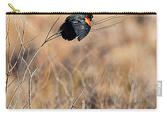 Springtime Song Square Carry-all Pouch by Bill Wakeley