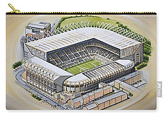 St  James Park - Newcastle United Carry-all Pouch by D J Rogers