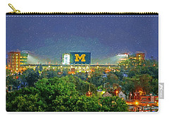 Stadium At Night Carry-all Pouch by John Farr