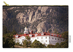 Stanley Hotel Estes Park Carry-all Pouch by Marilyn Hunt