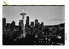 Stark Seattle Skyline Carry-all Pouch by Benjamin Yeager