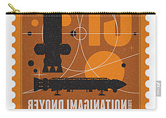 Starschips 13-poststamp - Space 1999 Carry-all Pouch by Chungkong Art