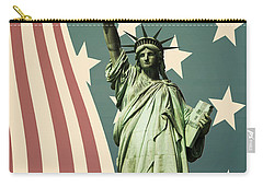 Statue Of Liberty Carry-all Pouch by Juli Scalzi